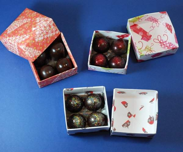 Christmas Truffle Presents