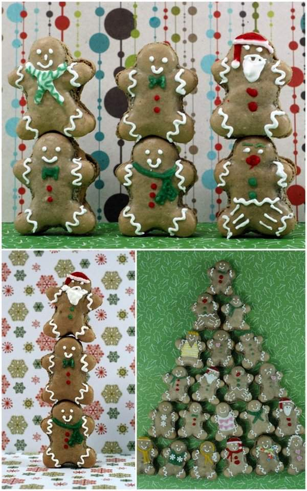 Gingerbread Man Gymnastics