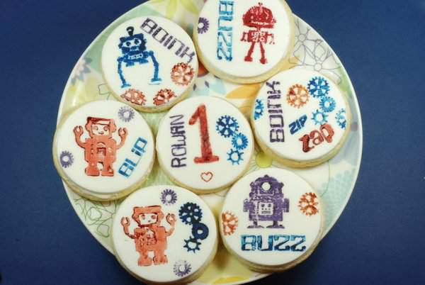 Robot cookie selection
