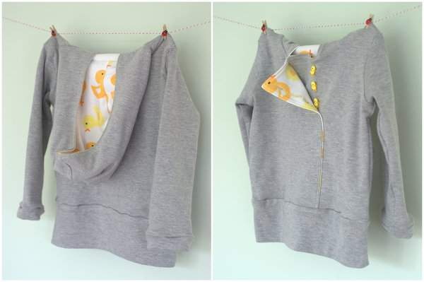 Urban Duck Hoodie Front and Back