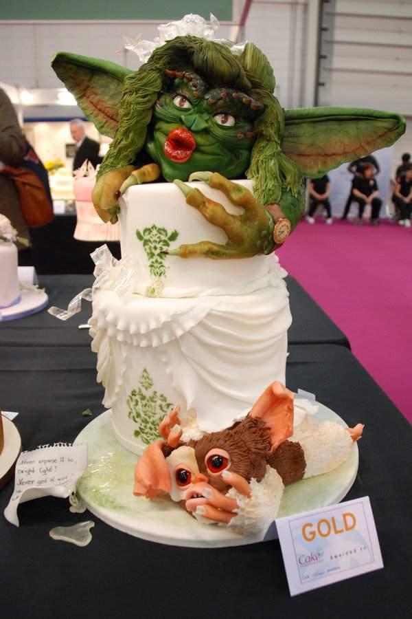 Gremlins wedding cake