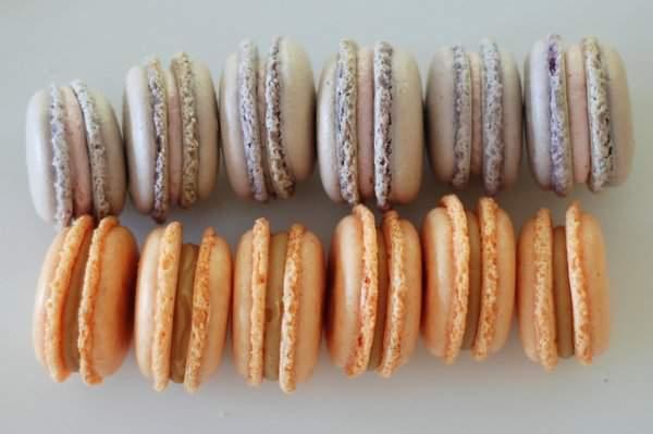 Overmixed macarons