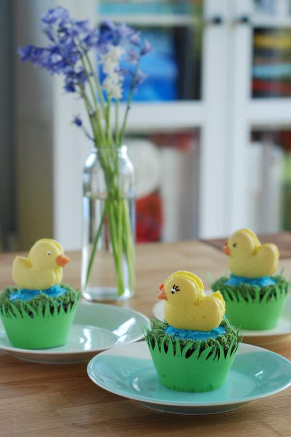 Quackaroons ready to eat
