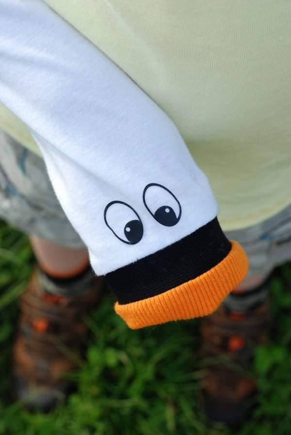 Swan sleeve