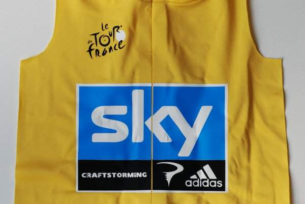 Adding Team Sky logo