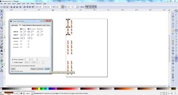 Inkscape Text 6