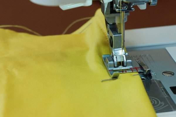 Sew elastic casing