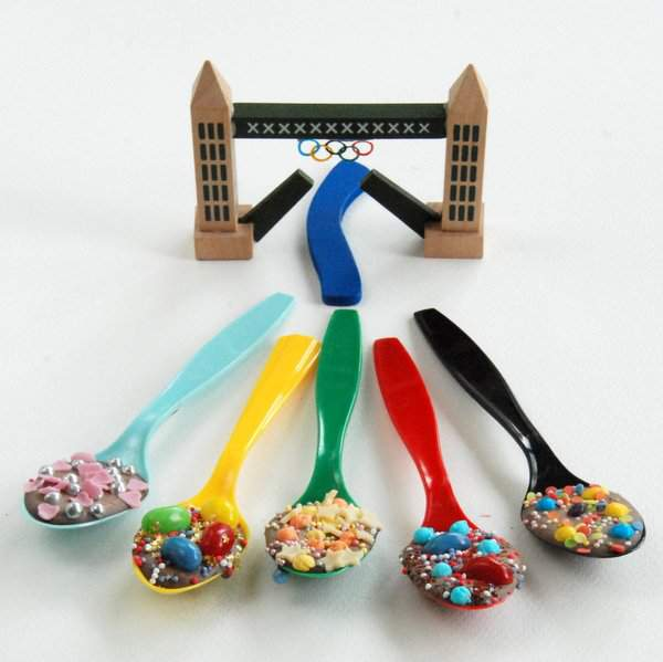 Tower Bridge Olympic Ring and Spoons