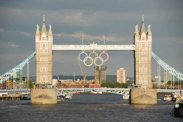 Tower Bridge Olympic Rings