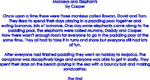 Monkeys and Elephants