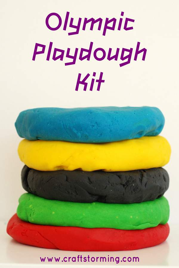 Olympic Playdough Kit 5