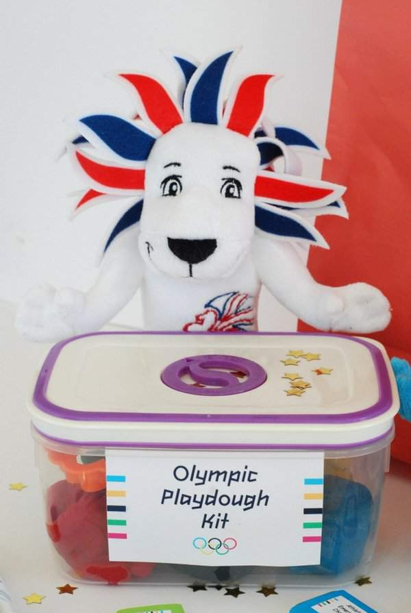 Olympic Playdough Kit 8