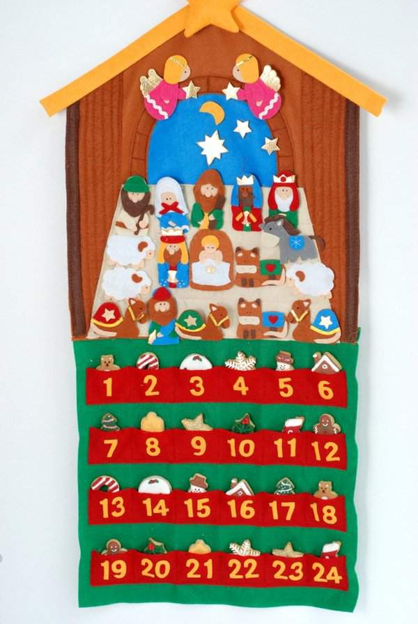 Mini Christmas Cookie Advent Calendar