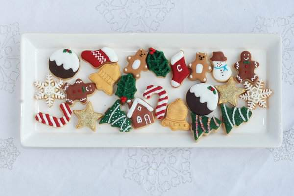 Mini Christmas Cookies for Advent Calendar 4