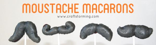Moustache Macaron Pops 2