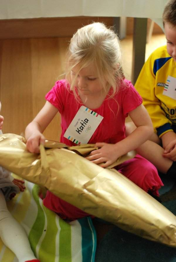 Pass the Olympic Torch Parcel