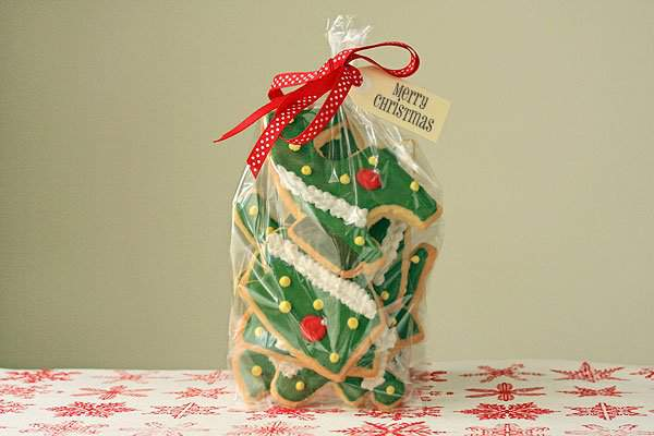 Christmas Tree Cookie Puzzle 2