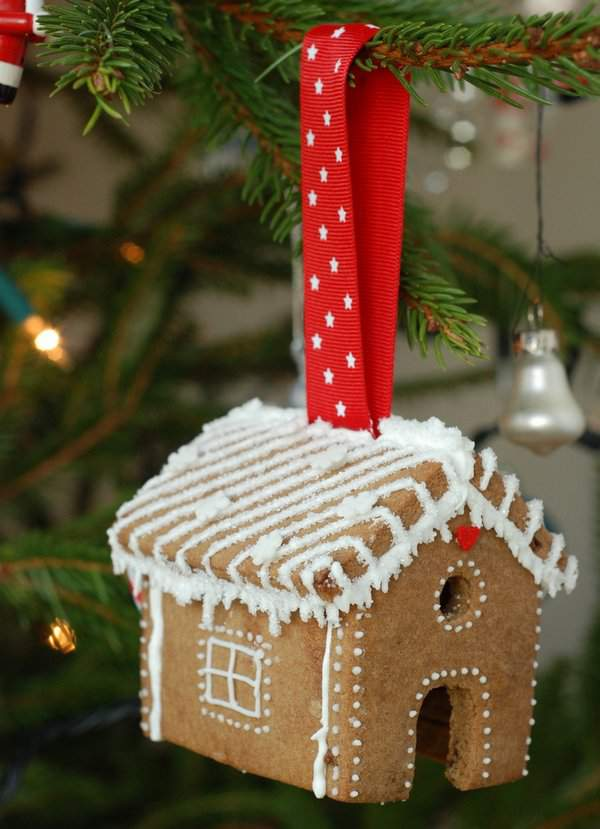Gingerbread House Tree Ornaments – Craftstorming