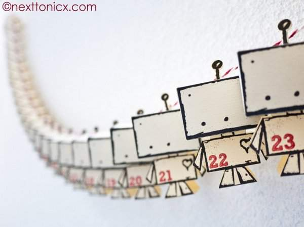 Little Robot Advent Calendar