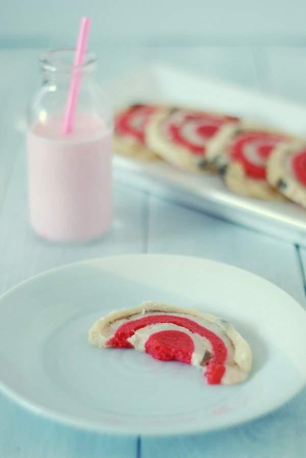 Stollen Inspired Spiral Cookies 1
