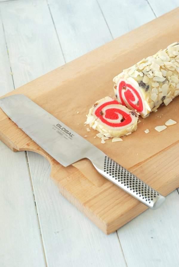 Stollen Inspired Spiral Cookies 4