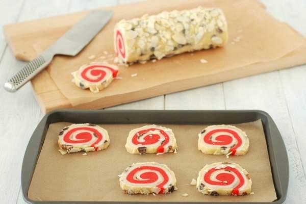 Stollen Inspired Spiral Cookies 5