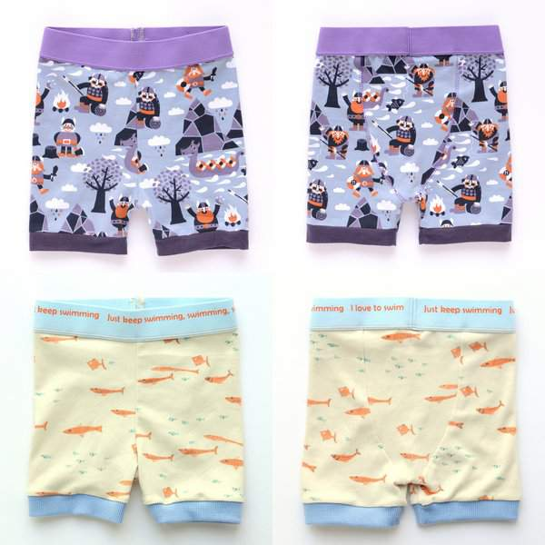 Fancy Pants Shorts Collage