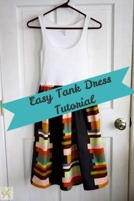 Easy Tank Dress by Jenny of The Southern Institute
