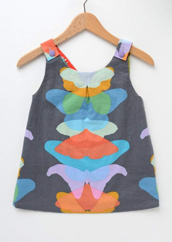 Roly Poly Pinafore 1
