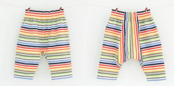 Teeny Tiny Trousers by Titchy Threads - Front and Back