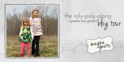 the roly poly along blog tour button