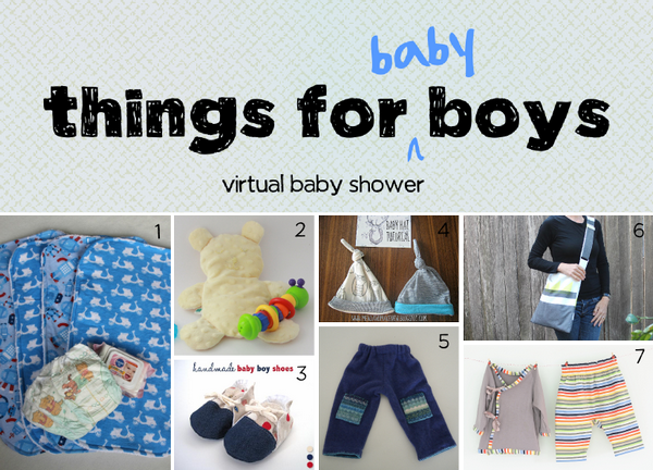 Things for Baby Boys Collage