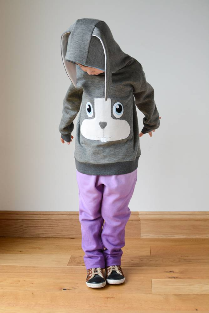 Rabbit Hoodie and Dip Dye Banyan Sweatpants