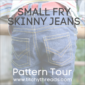 Skinny Jeans Sew Along