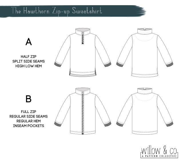 Hawthorn Line Drawings