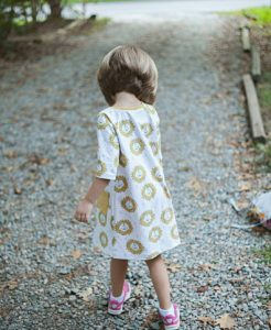 hollicoats made a beautiful version of the safariraglan dress forhellip
