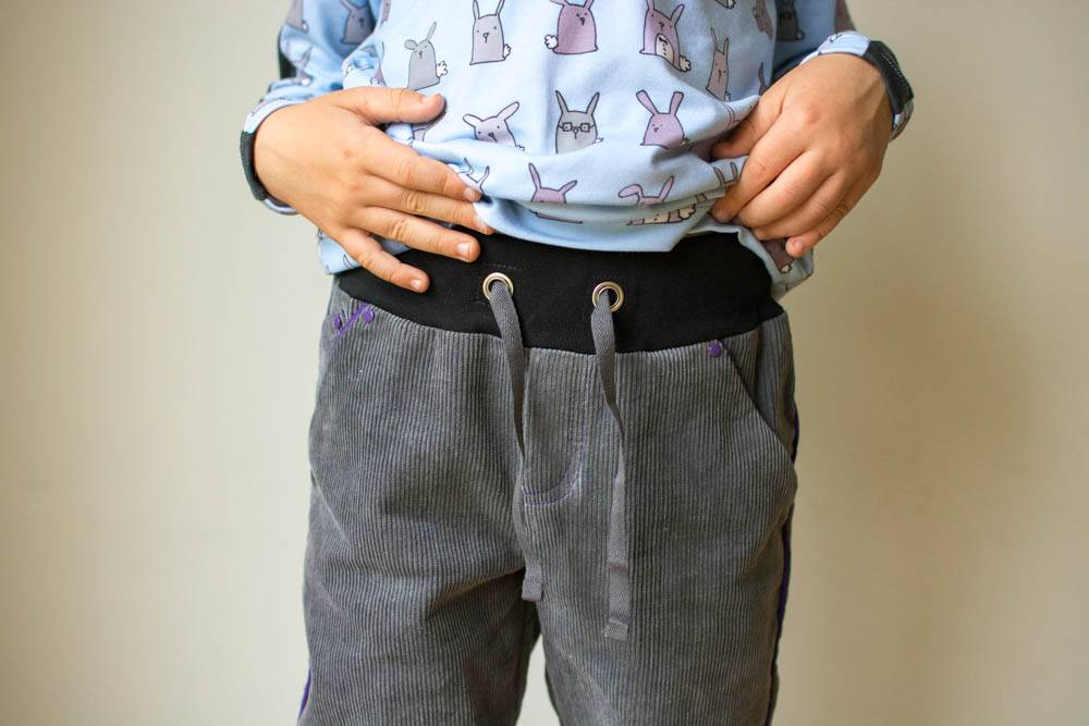 Twisted Trousers - waistband