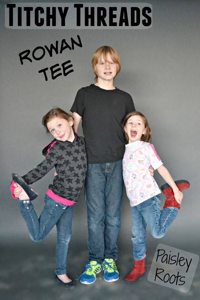 Rowan Tees by Karly of Paisley Roots