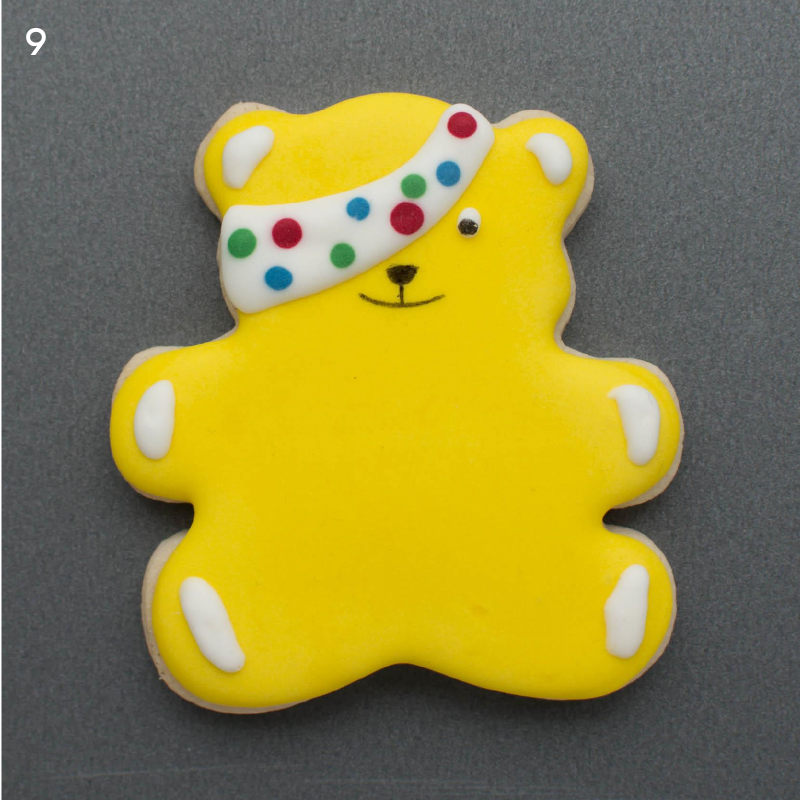 Pudsey Tutorial step 9