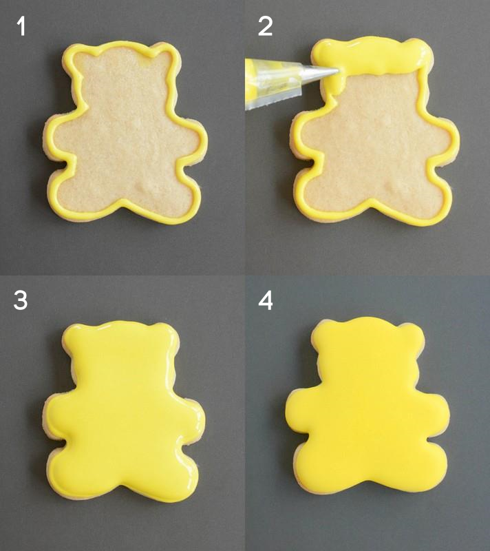Pudsey Tutorial steps 1 to 4