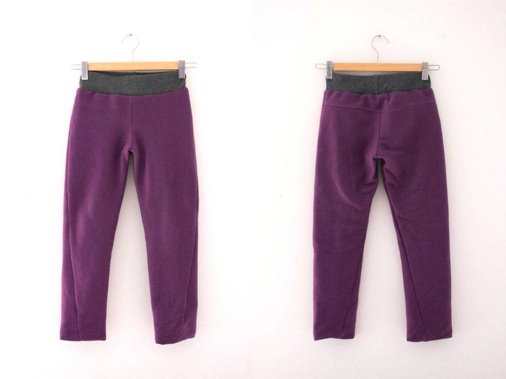Reindeer twisted trousers - lining