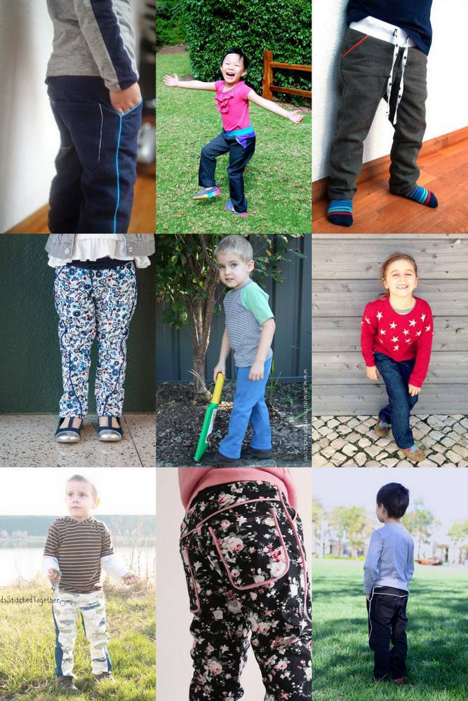 Twisted Trousers Testers - ages 2 to 5