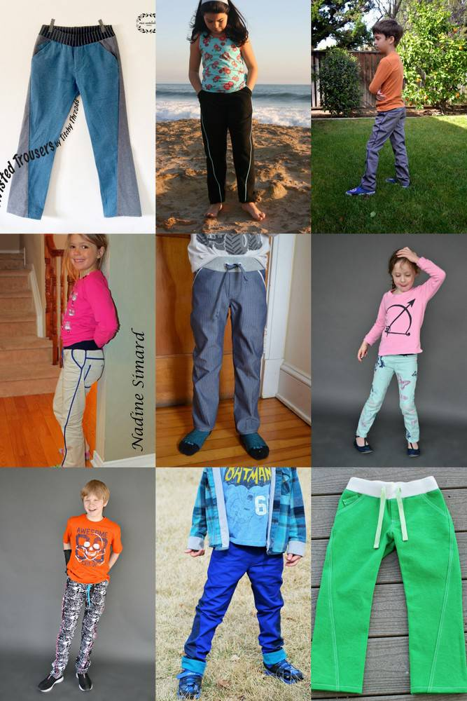 Twisted Trousers Tester - ages 6 to 12