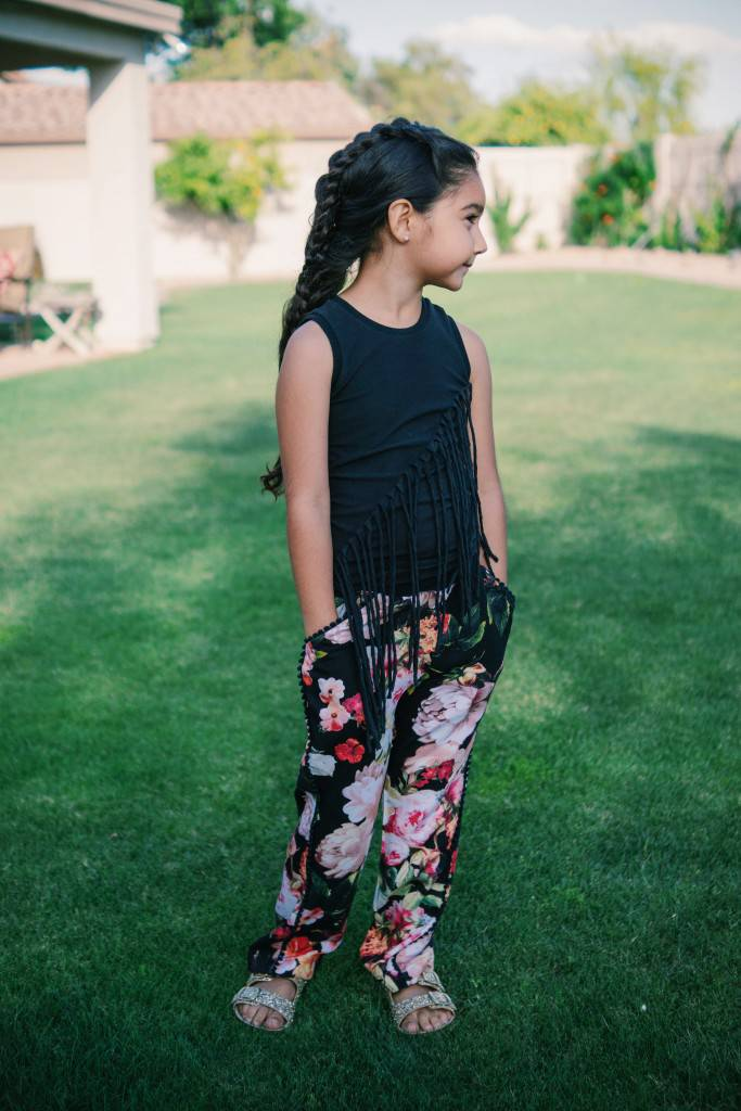 Ava's Lookbook Twisted Tank Pants