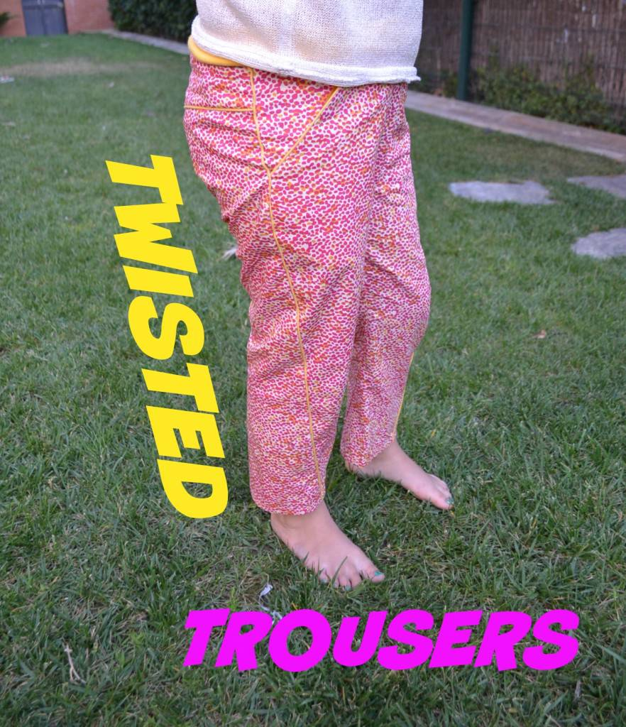 TWISTED TROUSERS - Solo Sewing