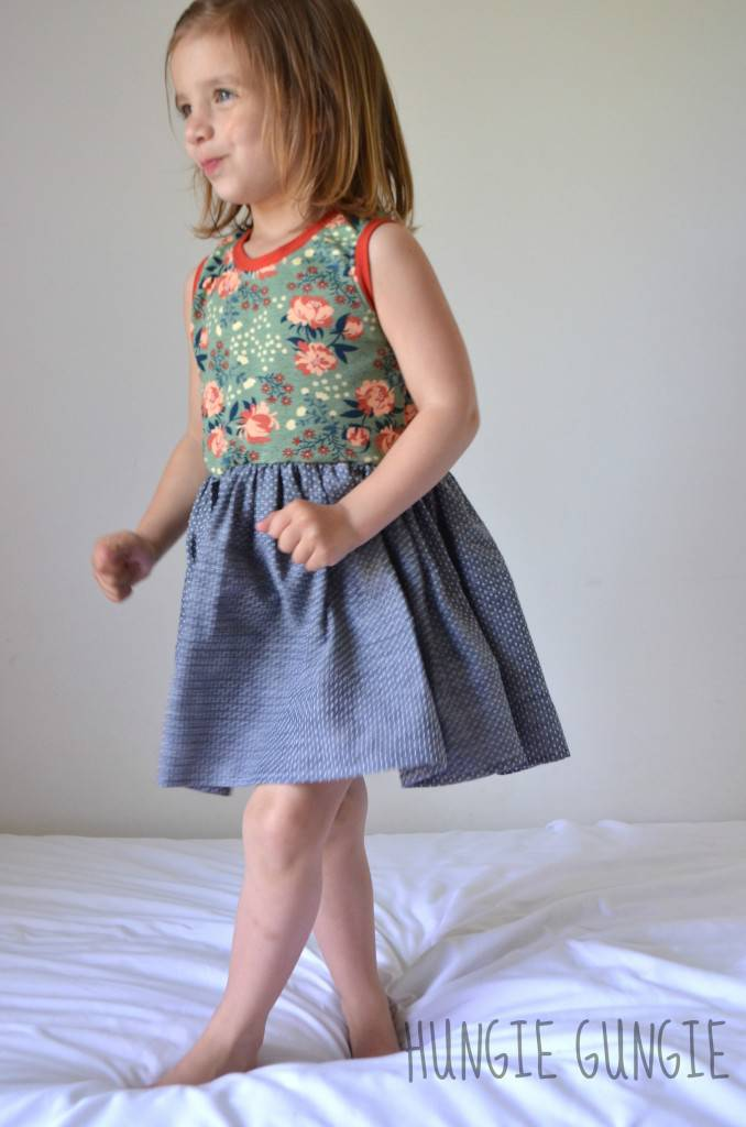 Twisted Tank dress by Erin from Hungie Gungie