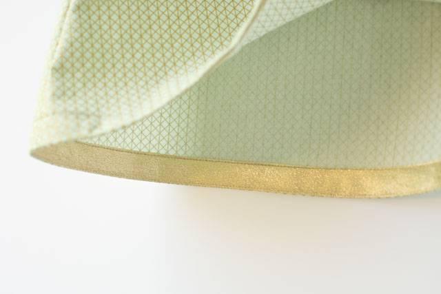 Gold Shandiin - hem detail