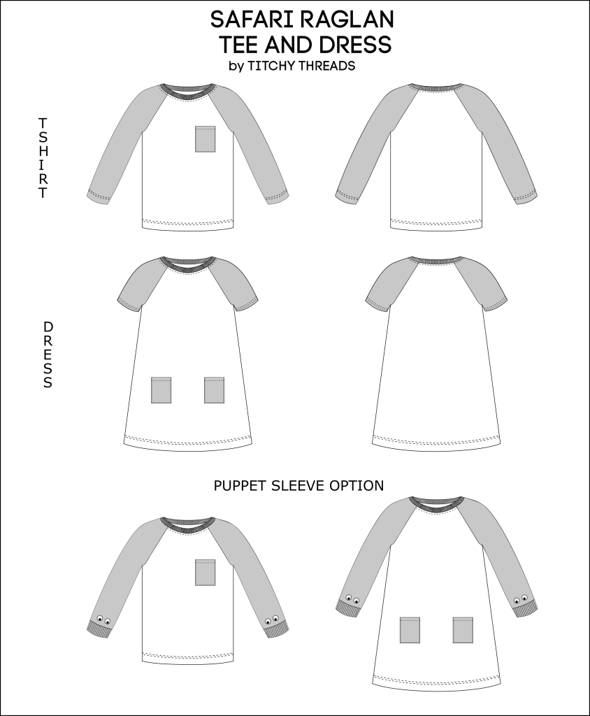 Safari Raglan Options