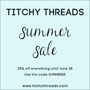 Titchy Threads Summer Sale