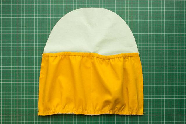 Elasticated pocket tutorial - ready to sew bag
